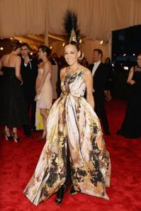 SJP. She's wearing a couture mowhawk. That is all.
